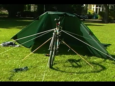 3x3 DD Tarp Bike Tent Wild Bikepacking Proof Of Concept First Trial