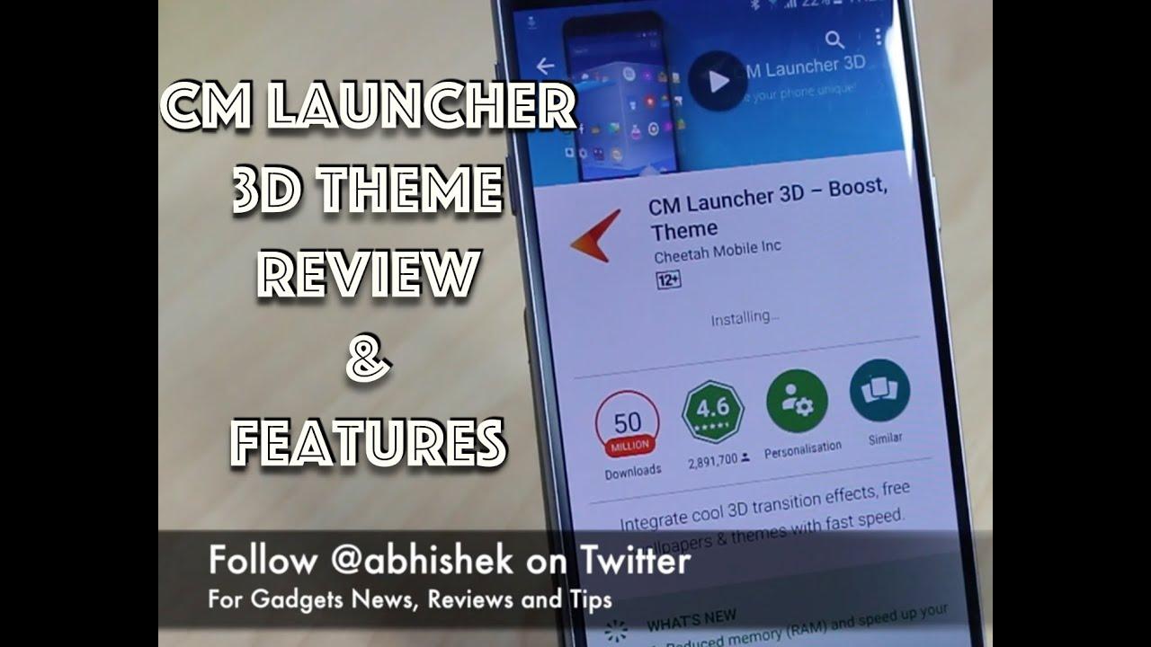 best cm launcher themes