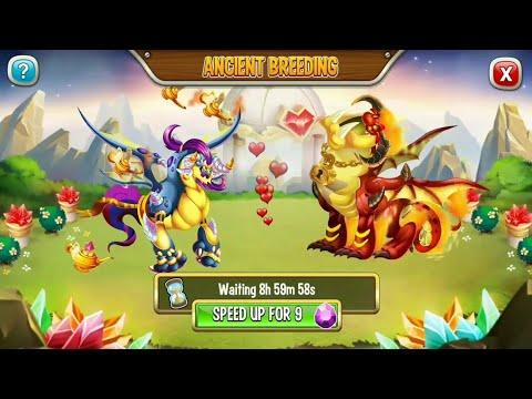 BREEDING SWIN-JIN WITH OBSETNO | ANCIENT WORLD GAMEPLAY Dragon city