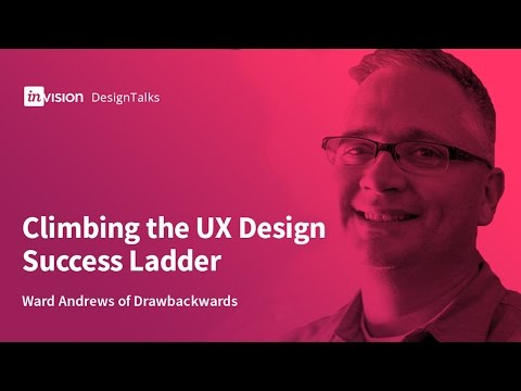 DesignTalk Ep. 46: Climbing the UX Design Success Ladder with Ward Andrews of Drawbackwards
