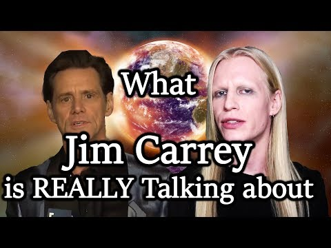 What Jim Carrey is REALLY Talking About - Is Jim Carrey Crazy?