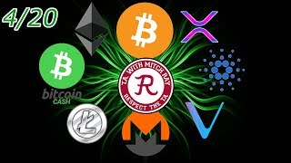 Cryptocurrency LIVE : Bitcoin, Ethereum, and Ripple Update? Episode 466 - Crypto Technical Analysis