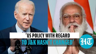 Watch: Biden official on situation in Jammu & Kashmir & US stand on issue