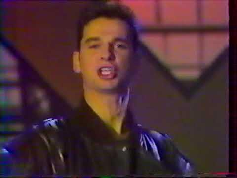Depeche Mode 1987 french tv 'Antenne2'  c'est encore mieux l'aprèsmidi : never let me down