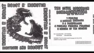 Gambar cover MONSTROUS AND ROBUST split EP