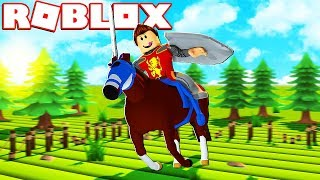 THE BEST HORSE RACES IN ROBLOX!!