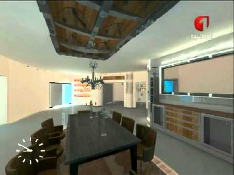 decoration tv salle a manger byadel jaafoura - youtube - Decoration Salle A Manger Design
