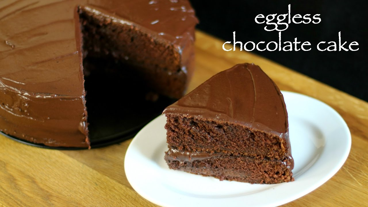 Cake Recipes In Otg Youtube: Eggless Chocolate Cake Recipe