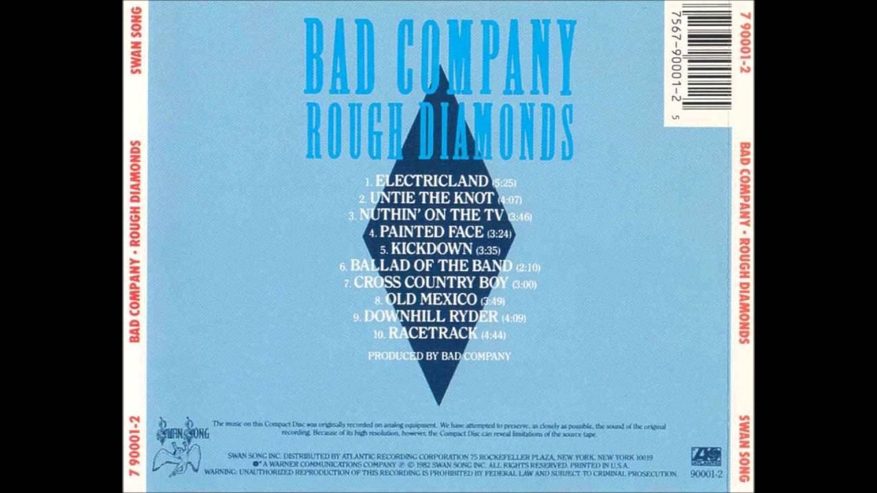 BAD COMPANY - Downhill Ryder ('82)