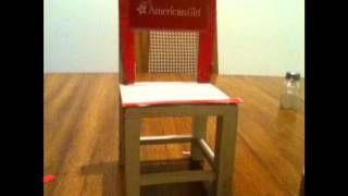 How To Make An American Girl Doll Chair Click Here