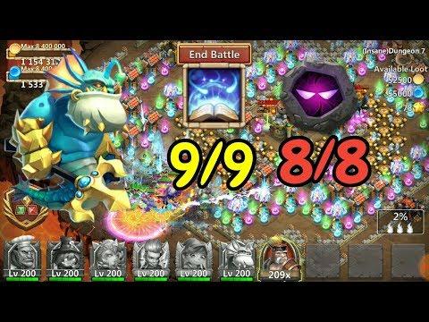 Triton L 9/9 Revitalize 8/8 Unholy Pact In Action L Castle Clash