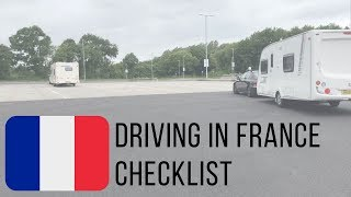 Driving in France for the first time