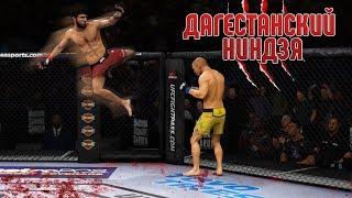 Забит Магомедшарипов и его ГРАНДИОЗНЫЙ ШОУТАЙМ КИК в UFC 3 ТОП 10 НОКАУТЫ