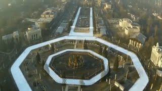 Самый большой искусственный каток в мире открылся на ВДНХ / МОСКВА