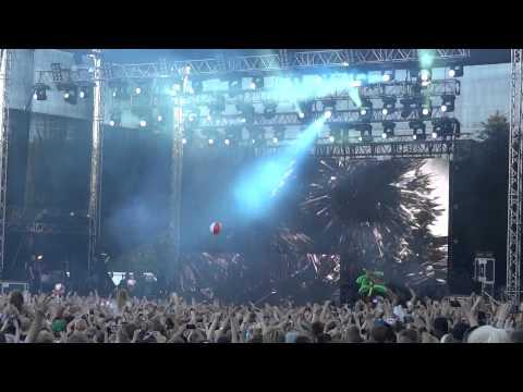 Skrillex - Right In LIVE @ Weekend Festival, Luukki, Finland 17.8.2012