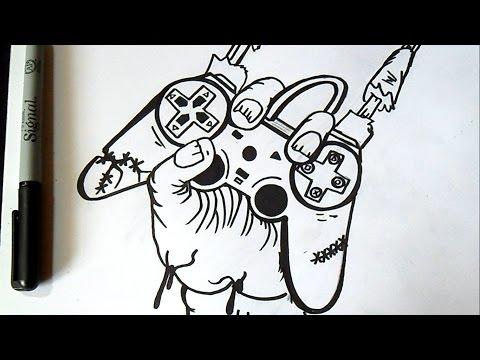 Comment Dessiner Un Ours En Peluche Graffiti Funnydog Tv