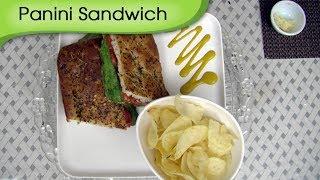 Tomato Cheese Panini Sandwich - A Recipe By Ruchi Bharani - Vegetarian [hd]