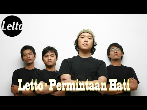 Letto - Permintaan Hati (Official Lyric)