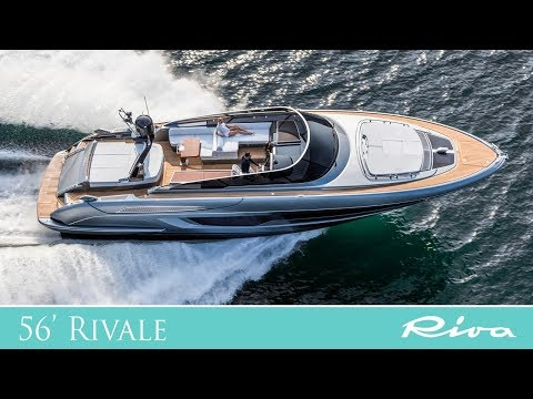 Luxury Yacht - Riva 56' Rivale: the unrivalled open yacht - Ferretti Group -  boat review