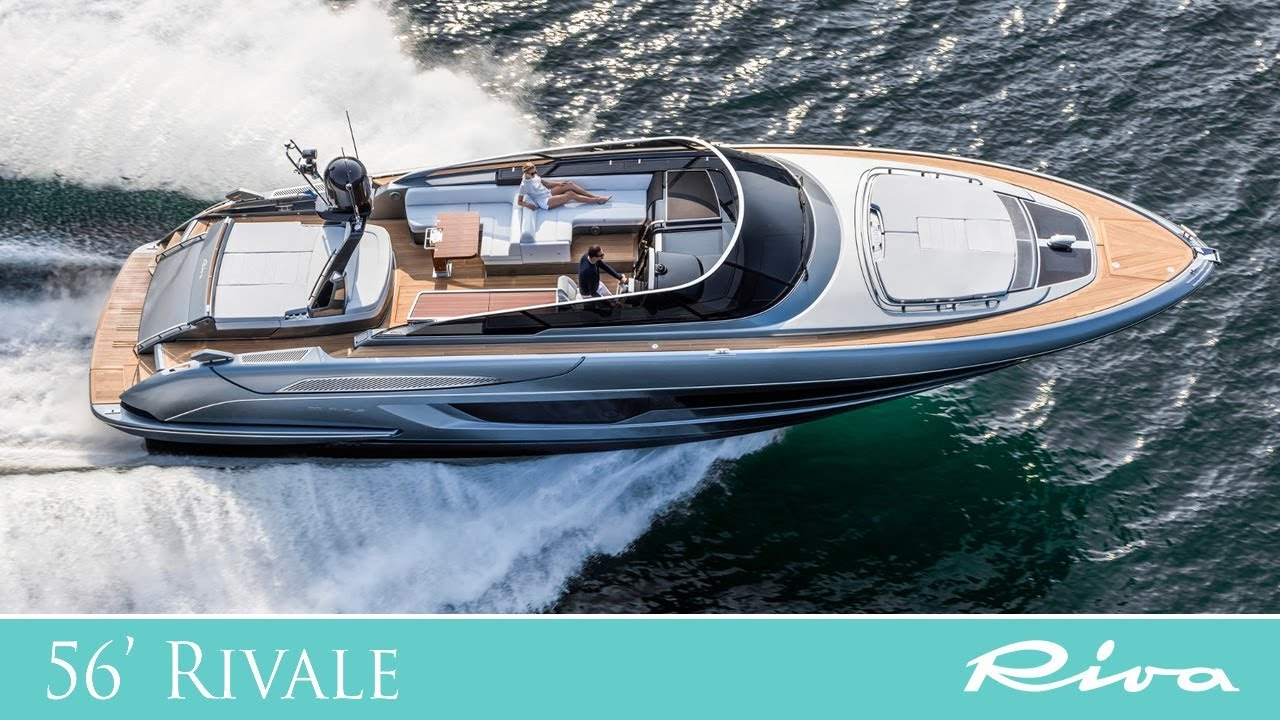 Luxury Yacht   Riva 56' Rivale the unrivalled open yacht   Ferretti Group   boat review   YouTube