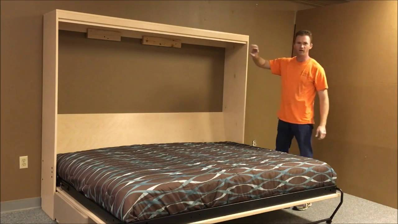 Horizontal Templeton Murphy Bed With