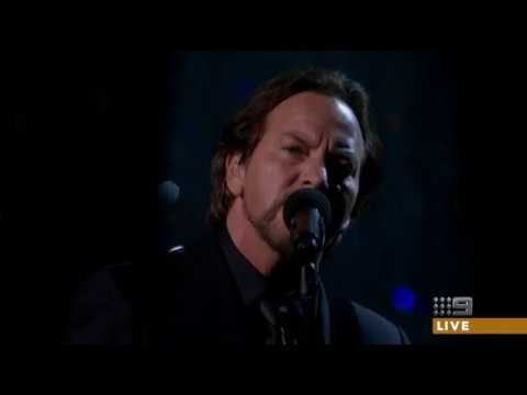 Eddie Vedder Oscar 2018 Performance (In Memoriam Segment)