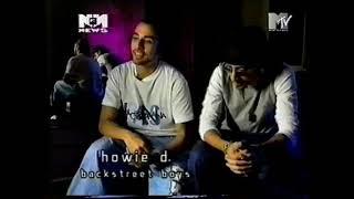 1999 - MTV Music News, AJ & Howie talking about USA Millennium Tour