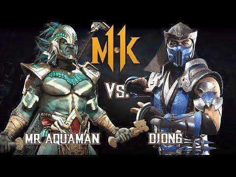 MK11: Casuals Vs Mr Aquaman- (Kotal Kahn Vs Sub Zero) - Mortal Kombat 11 Gameplay