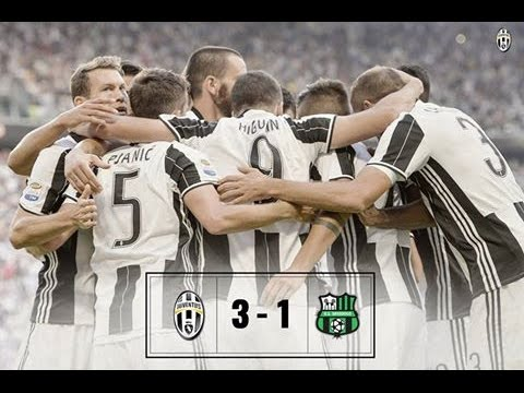 Juventus vs Sassuolo 3-1 All Goals & Highlights Serie A 10.09.2016