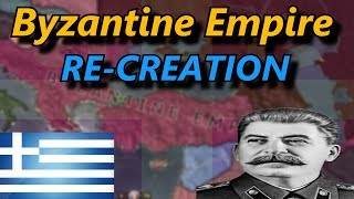HOI4 Timelapse - Re-Creation of BYZANTINE Empire