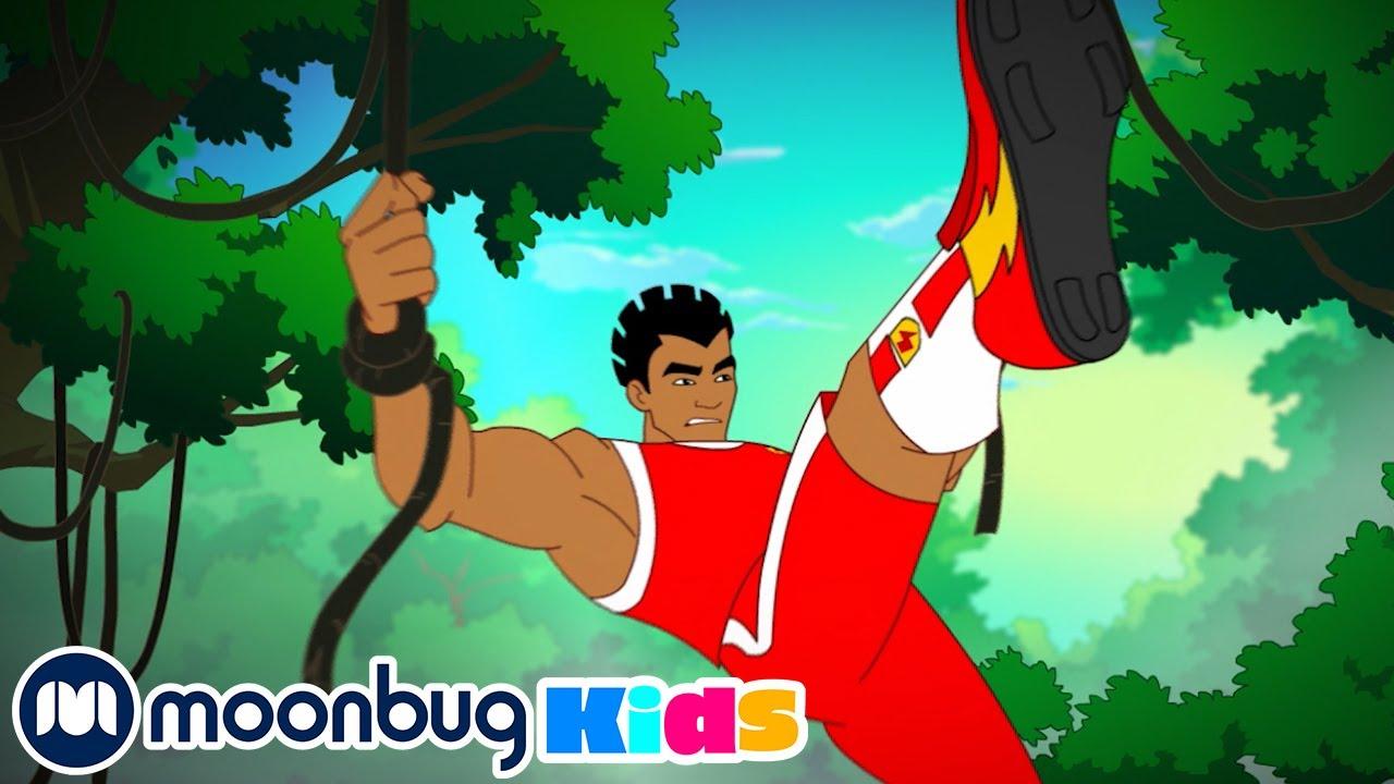 Supa Strikas - Season 1 - The Lost Star! | Soccer Cartoon For Kids | Moonbug Kids