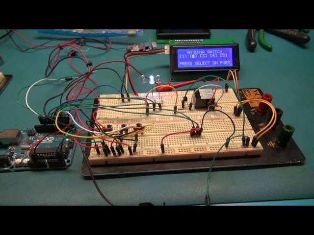 ARDUINO AND LCD PROJECT FOR HAM RADIO ANTENNAS