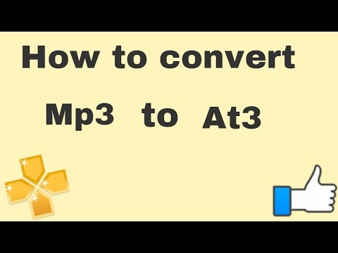 How to convert mp3 to at3