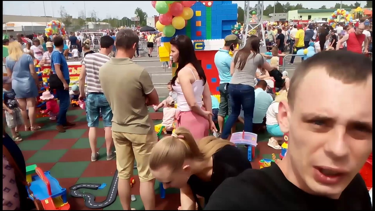Розыгрыш игрушек Полесье в Минске 1 июня - YouTube