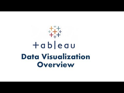 Data Visualiation in Tableau | Tableau Data Visualization Overview | Tableau Tutorial