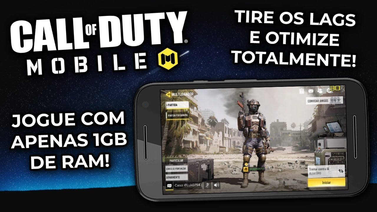 How to FIX LAGS and OPTIMIZE CALL OF DUTY MOBILE! PLAY WITH ONLY 1GB OF RAM! -