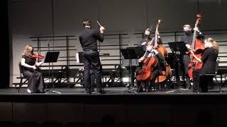 Jewelia and the Murray High String Ensemble perform Dotonbori Dash