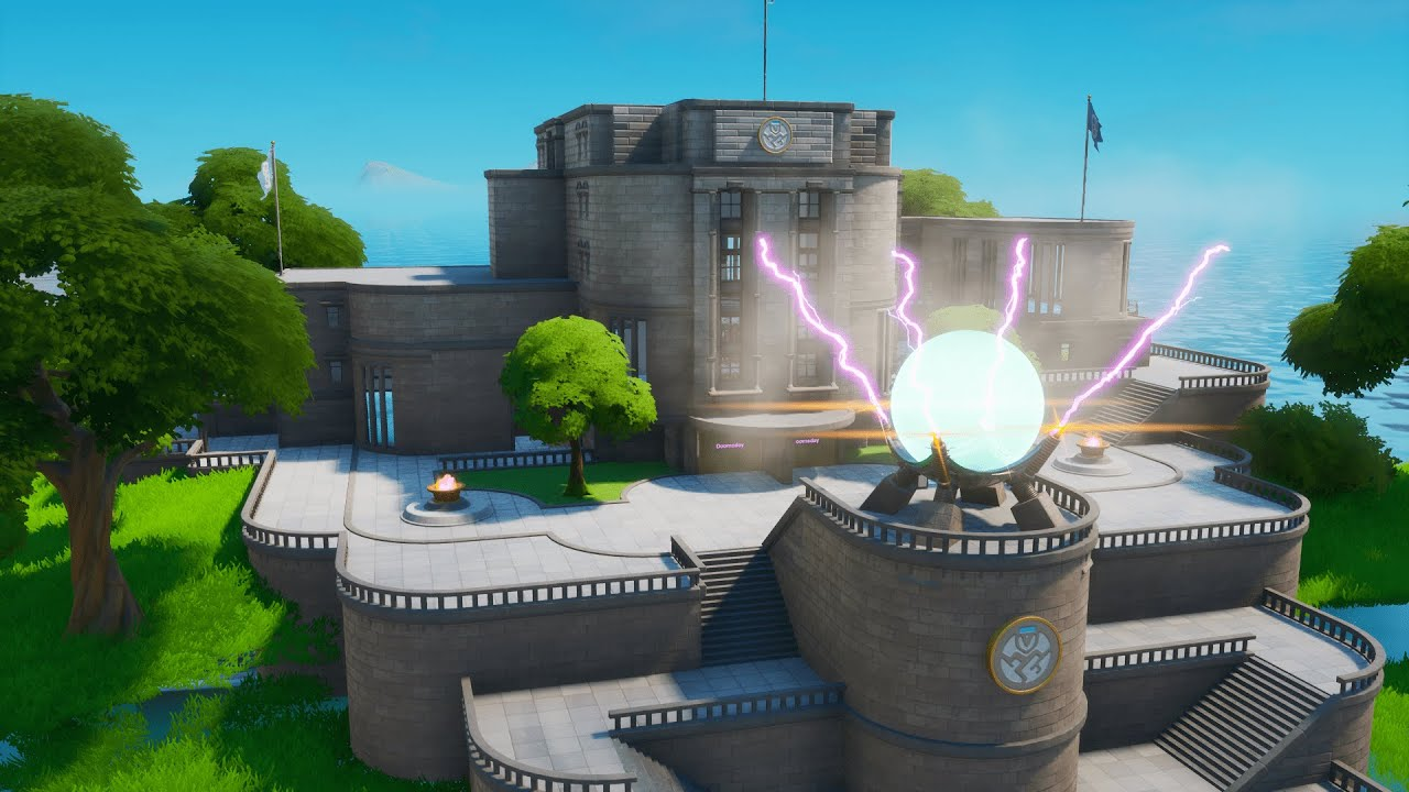 doomsday device fortnite creative code