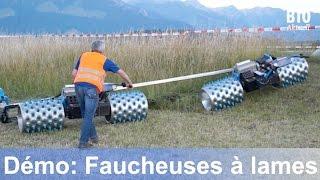 Démo Faucheuses: Rapid, Aebi, Enorossi, Gaspardo, Brielmaier, Wepfer (Juin 2015)
