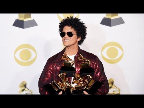 Bruno Mars And Kendrick Lamar Win Big At 2018 Grammys