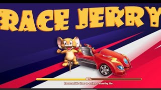 Tom And Jerry Game - Race Jerry Speed Car Racing Games   Car Games   Tom And Jerry Race Kids Games