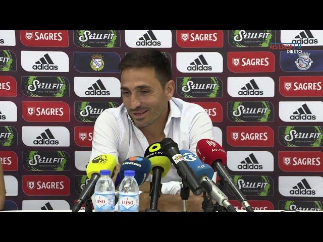 Conferência de Imprensa com Treinador FC Alverca
