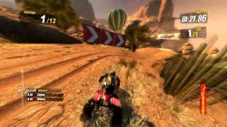 Nailed  Gameplay HD ATV 4x4 -2- Maximum Settings ati 5770
