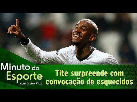 Tite chama esquecidos e convocação da Seleção Brasileira surpreende   Minuto do Esporte