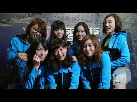Meet Hong Kong's first all-women e-sports gaming team
