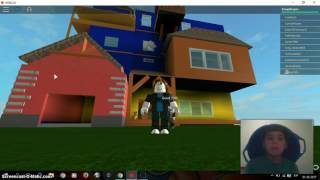 roblox hola vecino y primer video