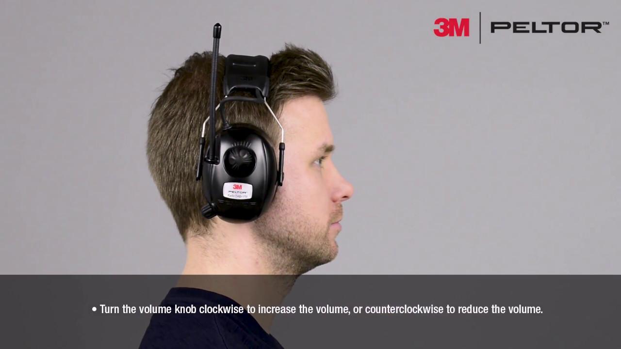 990a81a25 3M™ PELTOR™ Radio DAB+ FM User Instructions