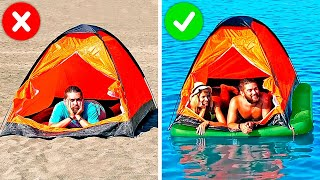 29 AWESOME HACKS FOR PERFECT BEACH DAY
