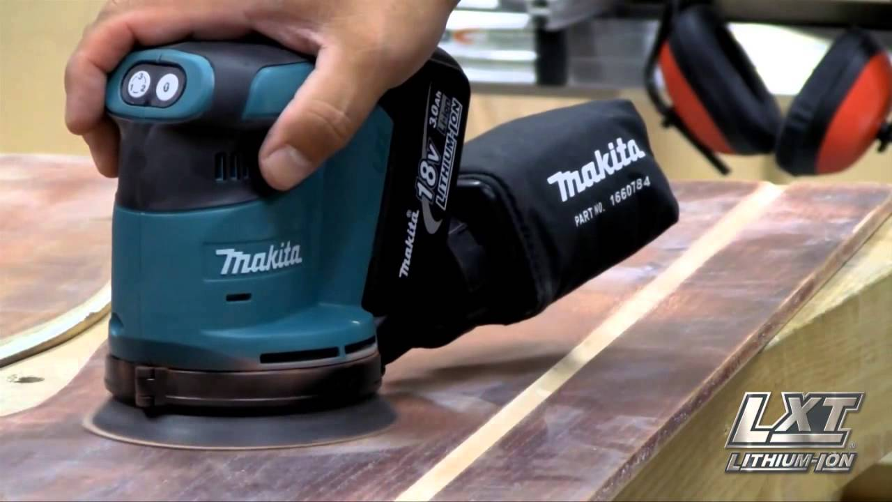 Makita DBO180Z 18V LXT Li-ion Cordless Random Orbit Sander Body Only