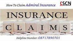 How To Claim Admiral Insurance